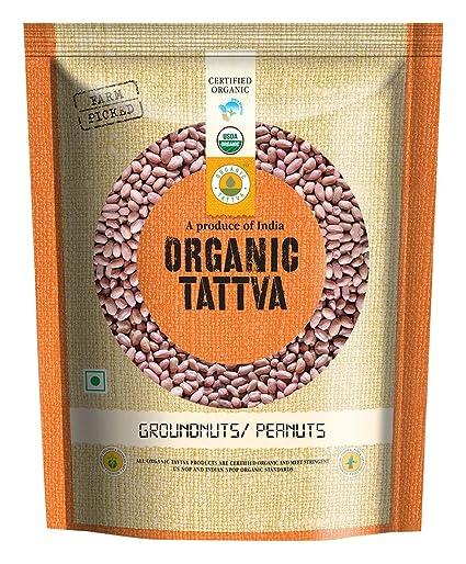 Organic Tattva Groundnuts/Peanuts, 500g