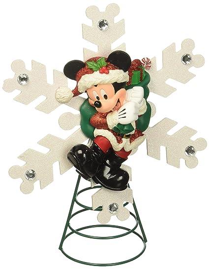 Disney Santa Mickey Mouse Christmas Tree Topper NEW - Amazon.com: Disney Santa Mickey Mouse Christmas Tree Topper NEW