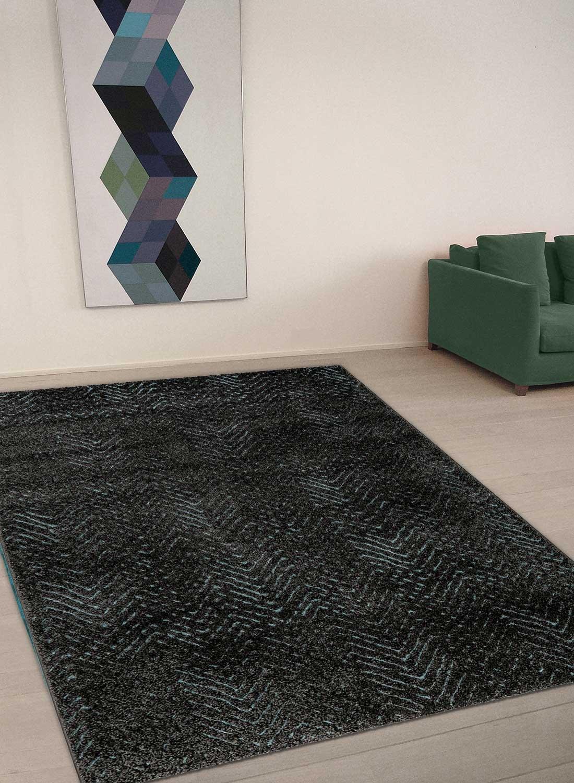 ESPRIT Relief Moderner Markenteppich, Polypropylen Polyester, Taupe, 170 x 120 x 1.3 cm