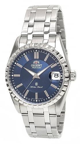 Orient Classic - Reloj automático Cristal de Zafiro Esfera Azul er1p008d: Amazon.es: Relojes