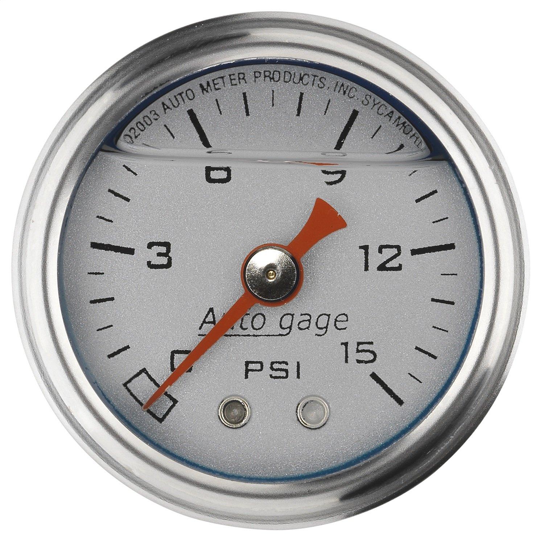 Auto Meter 2178 Autogage Fuel Pressure Gauge