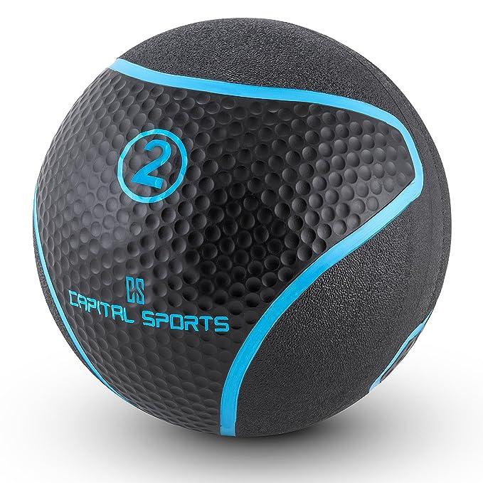 Capital Sports Medba 2 Balón Medicinal 2kg (Adecuado para ...