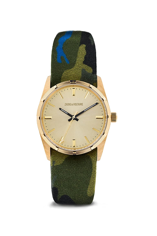 Zadig & Voltaire  Unisex -Armbanduhr  Analog    ZVF204