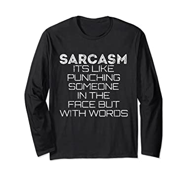Sarcasmo Vs Punzonatura T-shirt xXYMl