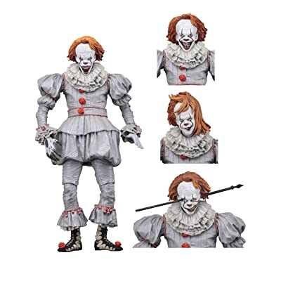 "NECA - IT - 7"" Scale Action Figure - Ultimate Well House Pennywise (2020): Toys & Games"