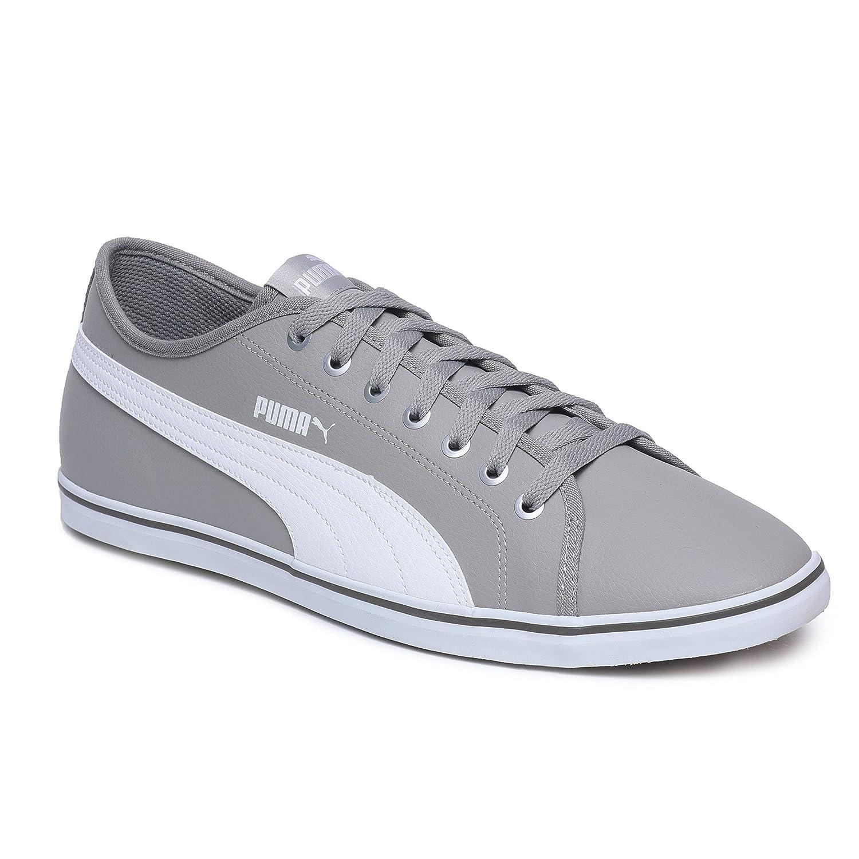 1919ee6331c Puma Men s Elsu v2 SL DP Rock Ridge White Sneakers-3 UK India (35.5 EU)  (4059504052578)  Buy Online at Low Prices in India - Amazon.in