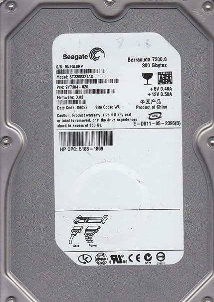 Amazon. Com: seagate st3300831as 300gb hard drive: computers.