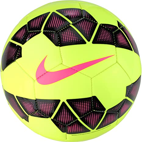 Nike Pitch - Balón Unisex, Color Lima/Negro/Rosa, Talla 5: Amazon ...