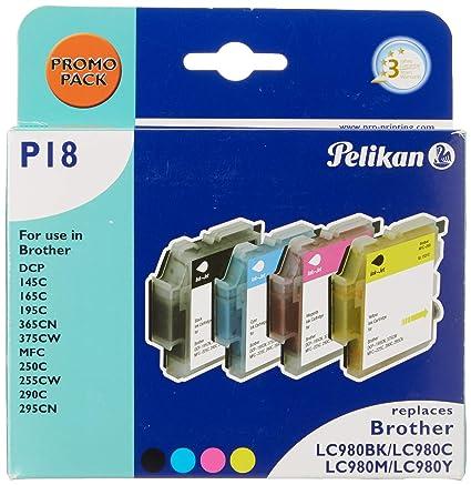 Pelikan 4107602, Cartuchos de Tinta para Impresoras (Negro ...