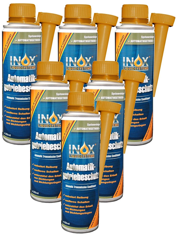 INOX Getriebeschutz Additiv fü r Automatikgetriebe, 6x 250ml