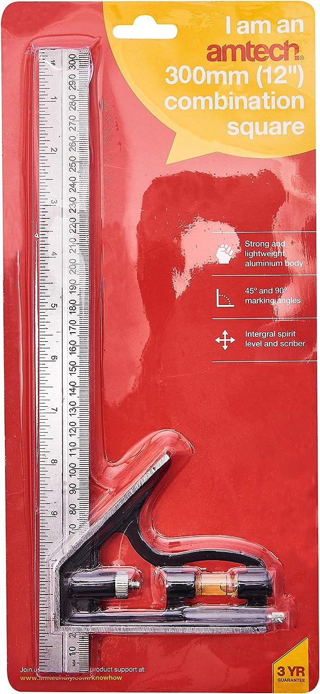 Am-Tech /Équerre combin/ée 30,5 cm