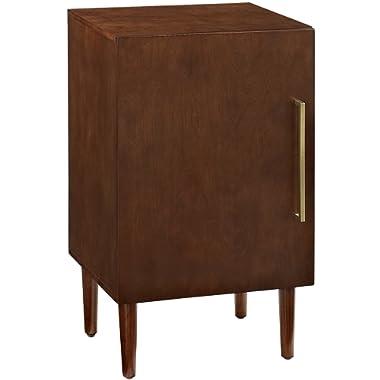 Crosley Furniture CF1104-MA Everett Mid-Century Modern Record Player Stand, Mahogany