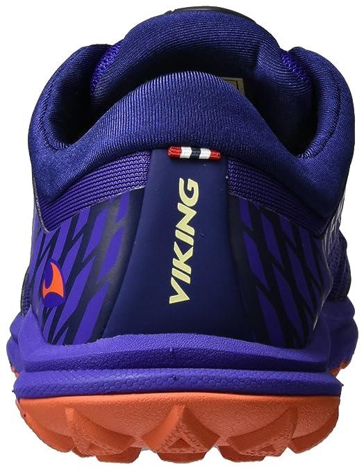 Viking Damen Apex II Traillaufschuhe, Violett (Purple/Orange), 42 EU