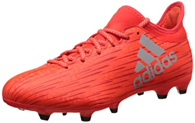 new style 56eba 22a08 adidas X 16.3 FG - Chaussures de Football pour Homme, Rouge, Taille 40