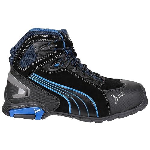 Puma Safety Zapatillas Para Hombre, Color Negro, Talla 41 EU