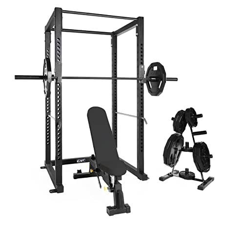 Amazon.com: WF Athletic Supply Power Rack / Cage Combo ( 3-Inch ...