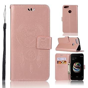 Funda® 3D Relief Painting Flip Billetera Funda para Xiaomi Mi 5X/Xiaomi Mi A1 (Patrón 7): Amazon.es: Electrónica