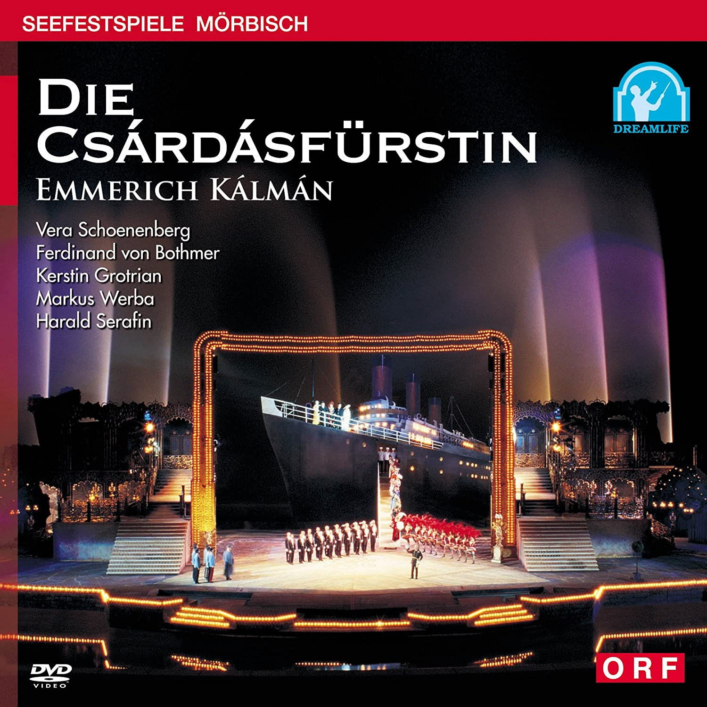 ルドルフビーブル 指揮 エメリッヒカールマン「チャールダーシュの女王」(2002年メルビッシュ音楽祭) [DVD] B001N1G338