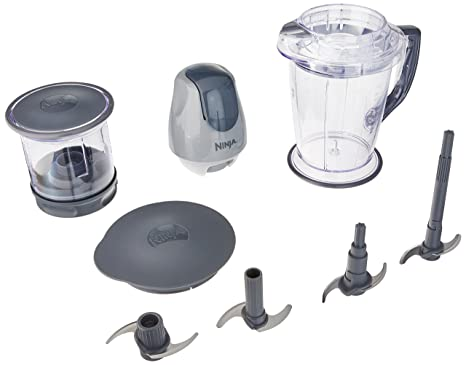 Ninja Master Prep Chopper, Blender & Food Processor - QB900B (Renewed)