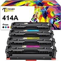 Toner Bank Compatible Toner Cartridge Replacement for HP 414A 414X W2020A W2021A W2022A W2023A for HP Laserjet M454dw…