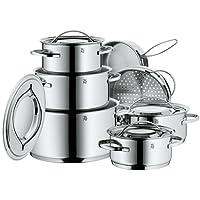 WMF 711126040 Gala Plus - Batería de cocina (7 piezas)