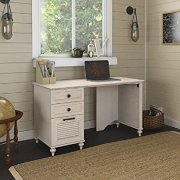 kathy ireland office by bush furniture volcano dusk 51w desk with file drawer and box drawers bush office furniture amazon