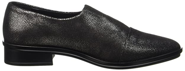 NR RAPISARDI E700, Mocassins Femme, Noir (Black Pewter Star Dust 24SD-E), 39 EU