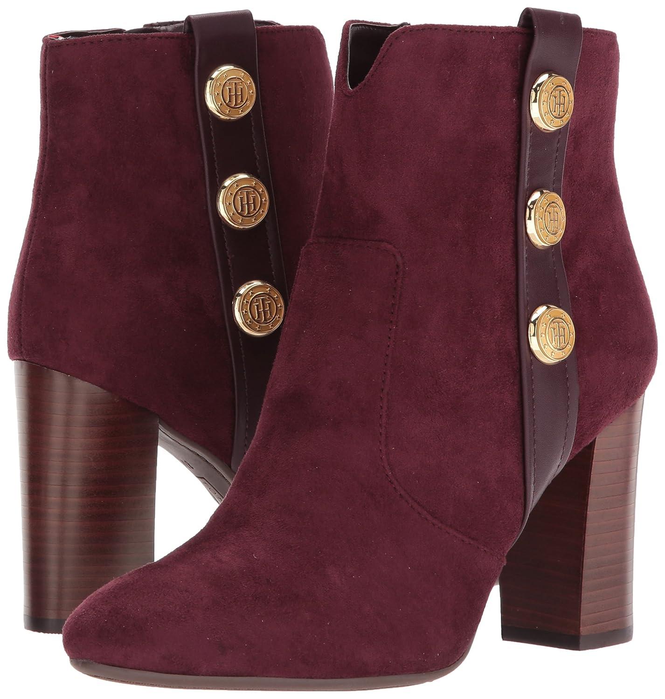 Tommy Hilfiger Women's Domain B(M) Ankle Boot B06ZZSB46R 5.5 B(M) Domain US|Burgundy 1fafc7