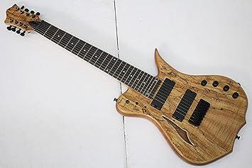 musoo 8 cuerdas para guitarra eléctrica con hueca cuerpo: Amazon.es ...