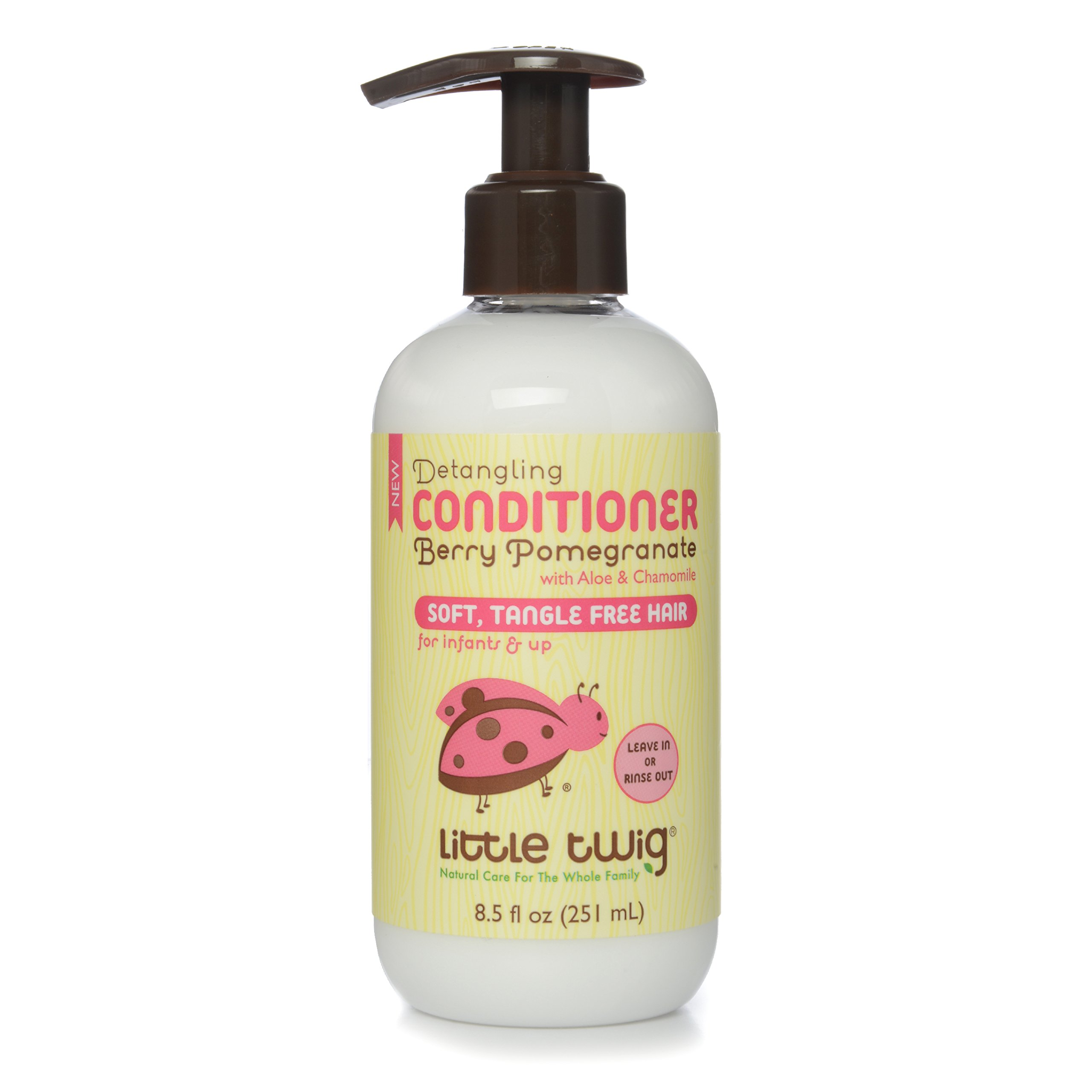 Little Twig All Natural Conditioning Detangler, Berry Pomegranate, 8.5 Fluid Oz