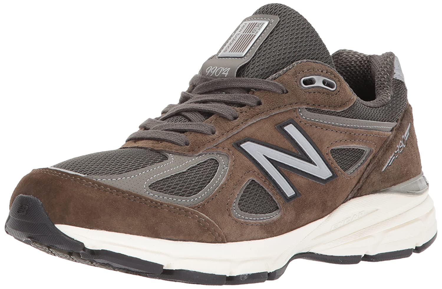 New Balance Women's 990v4 Running Shoe B01MRN3FEX 13 M US|Military Green/Military Green