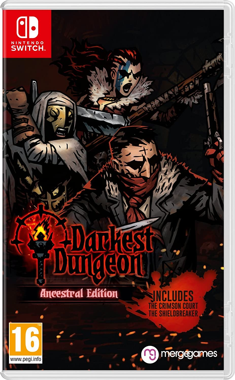 Darkest Dungeon: Ancestral Edition - Nintendo Switch [Importación ...