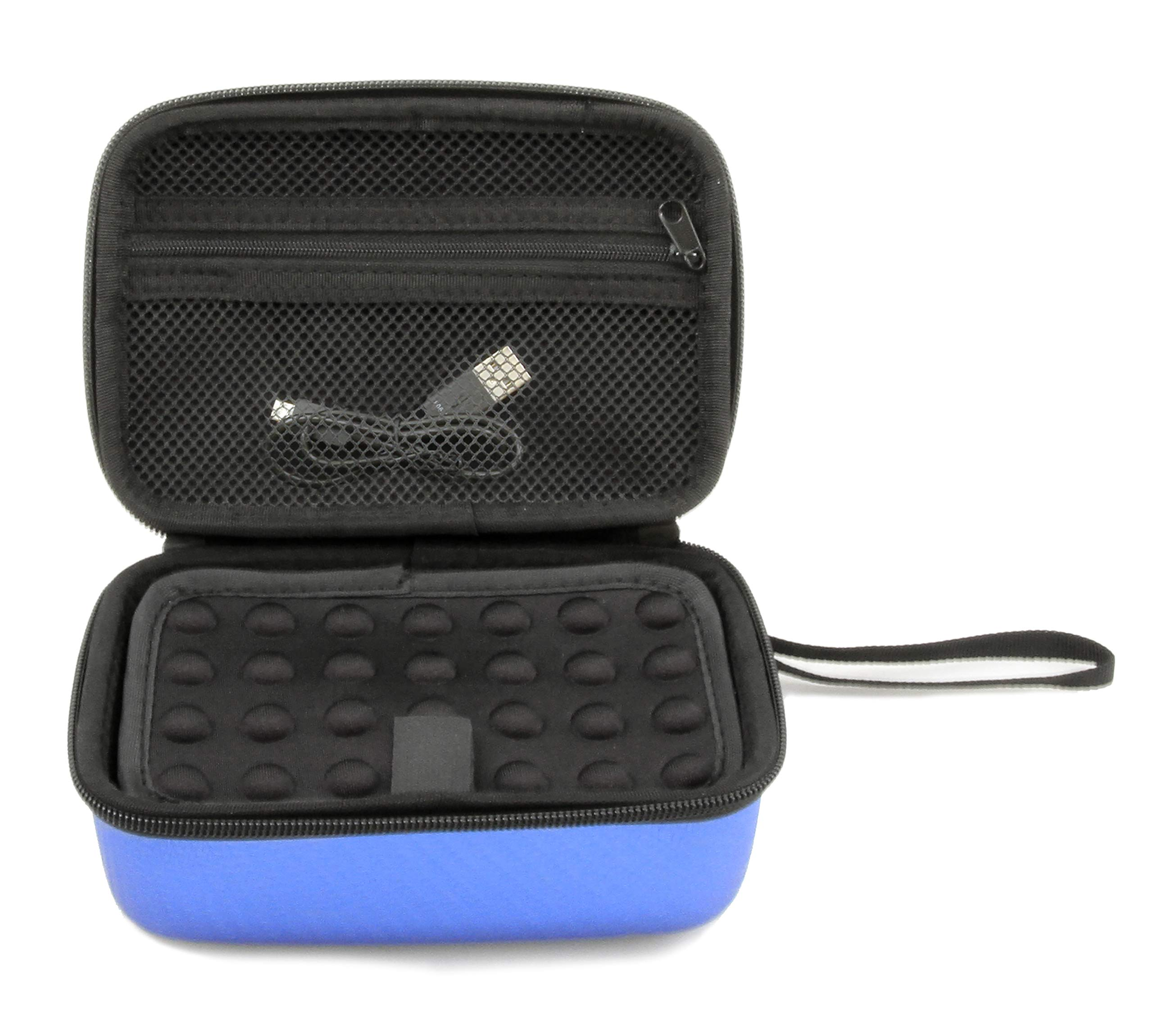 CASEMATIX Blue Toy Case Compatible with Boxer Interactive A.I. Robot - Includes Toy Box and Felt Bag to Hold Game Activating Feature Cards by CASEMATIX (Image #4)