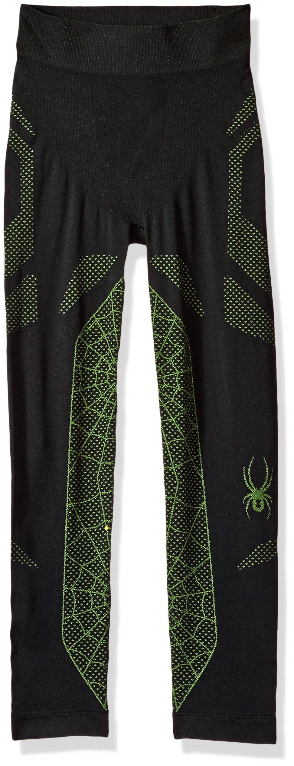Spyder Boy's Racer Pant, Black/Fresh, Small/Medium