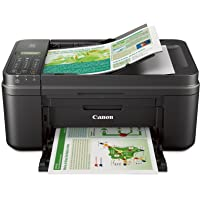 Canon MX492 Wireless Color Inkjet All-in-One Printer with Duplex (Black)