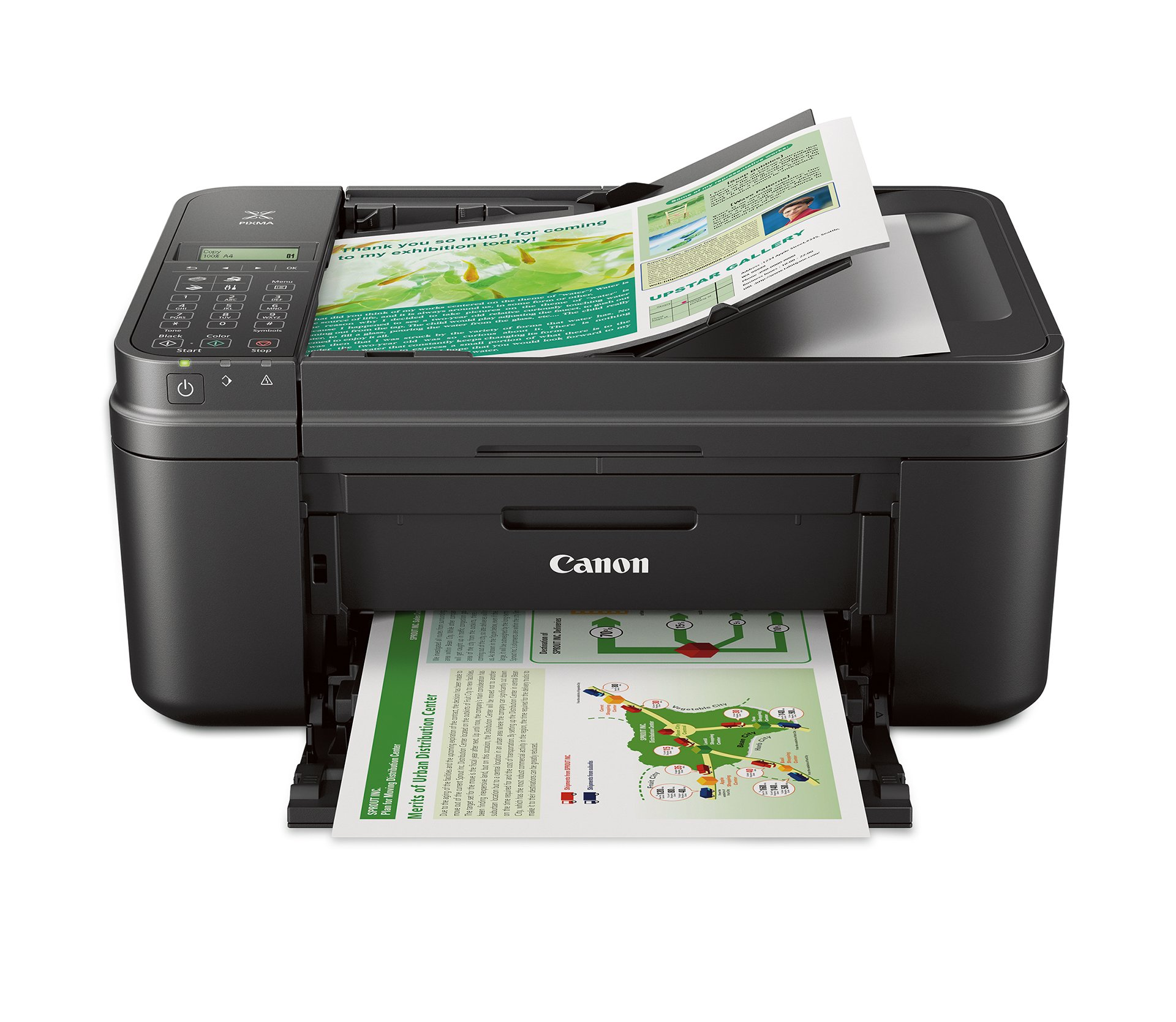 Canon MX492 Wireless All-IN-One Small Printer with Mobile or Tablet Printing, Airprint and Google Cloud Print Compatible