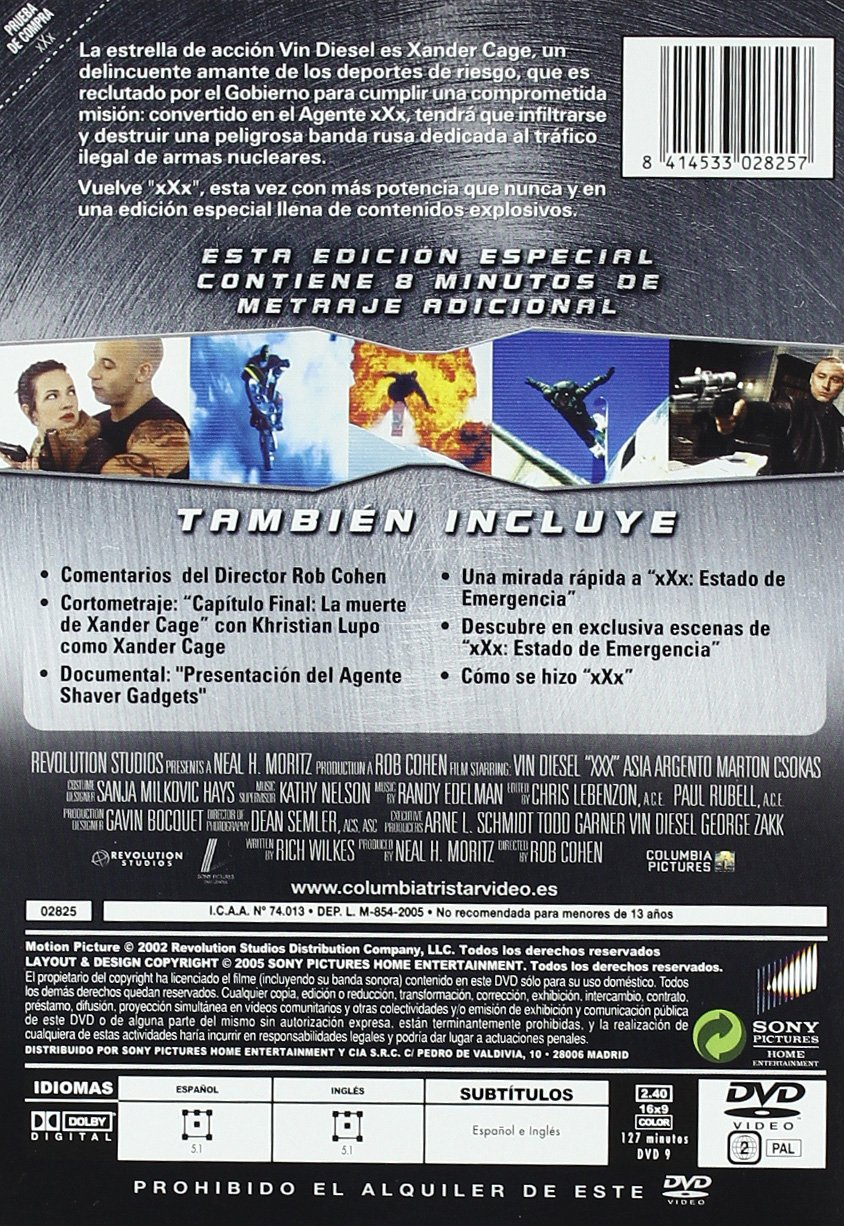 Triple X (Ed.Esp.) [DVD]: Amazon.es: Richy Müller, Petr Jakl ...