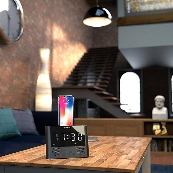 AZATOM iRISE 10W Lightning Dock for iPhone 6 Plus/6/5S/5/Nano 7G/Touch 5G, [Importado de UK]: Amazon.es: Electrónica
