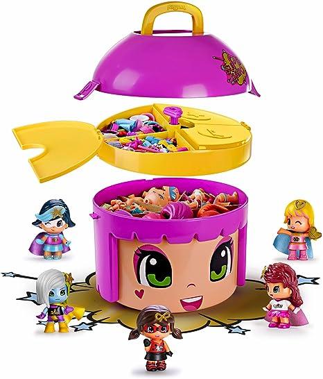 Pinypon Cubo Mix Is MAX Edición Limitada de Superhéroes (Famosa 700013570) , color/modelo surtido: Amazon.es: Juguetes y juegos