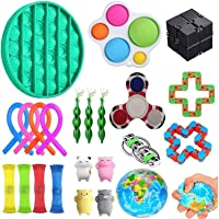 Xingchen Sensory Toys Set,23pcs Fidget Toys for Kids and Adults, Relieves Stress and Anxiety Fidget Toy, Special Toys…
