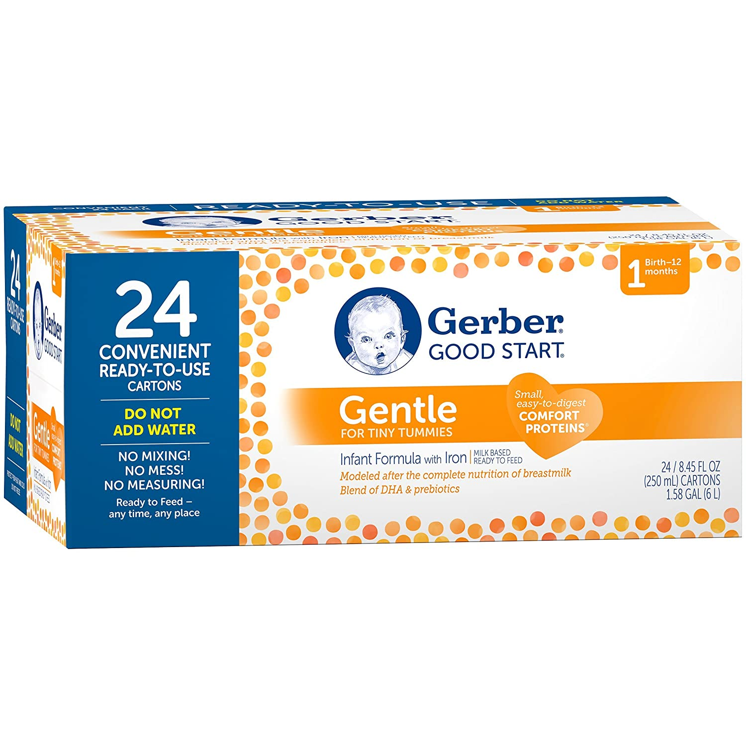 gerber good start gentle non gmo ready to feed infant formula