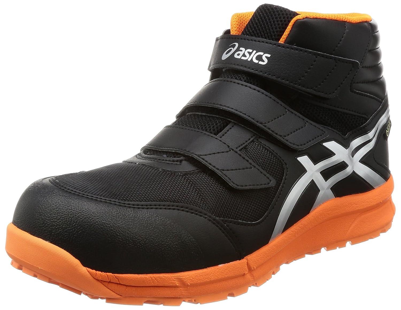 [アシックスワーキング] 安全靴 作業靴 ウィンジョブCP601 G-TX B074MDFLMH ブラック/シルバー 26.5 3E