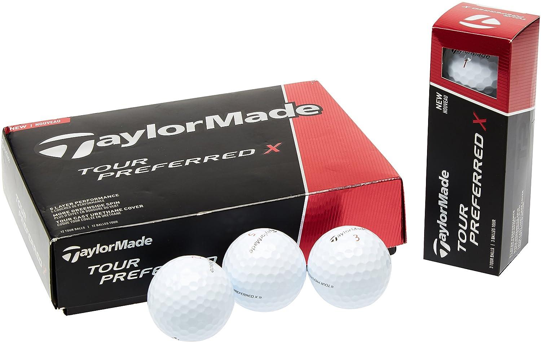 TaylorMade Golf 2016 Tour Preferred X TPx Mens Soft Tech 5-Layer Golf Balls