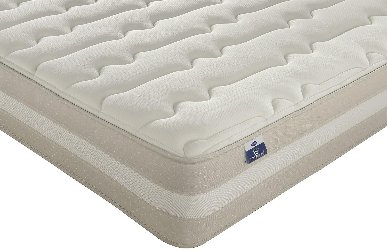 Silentnight mirapocket materasso per agopressione berlin tessuto