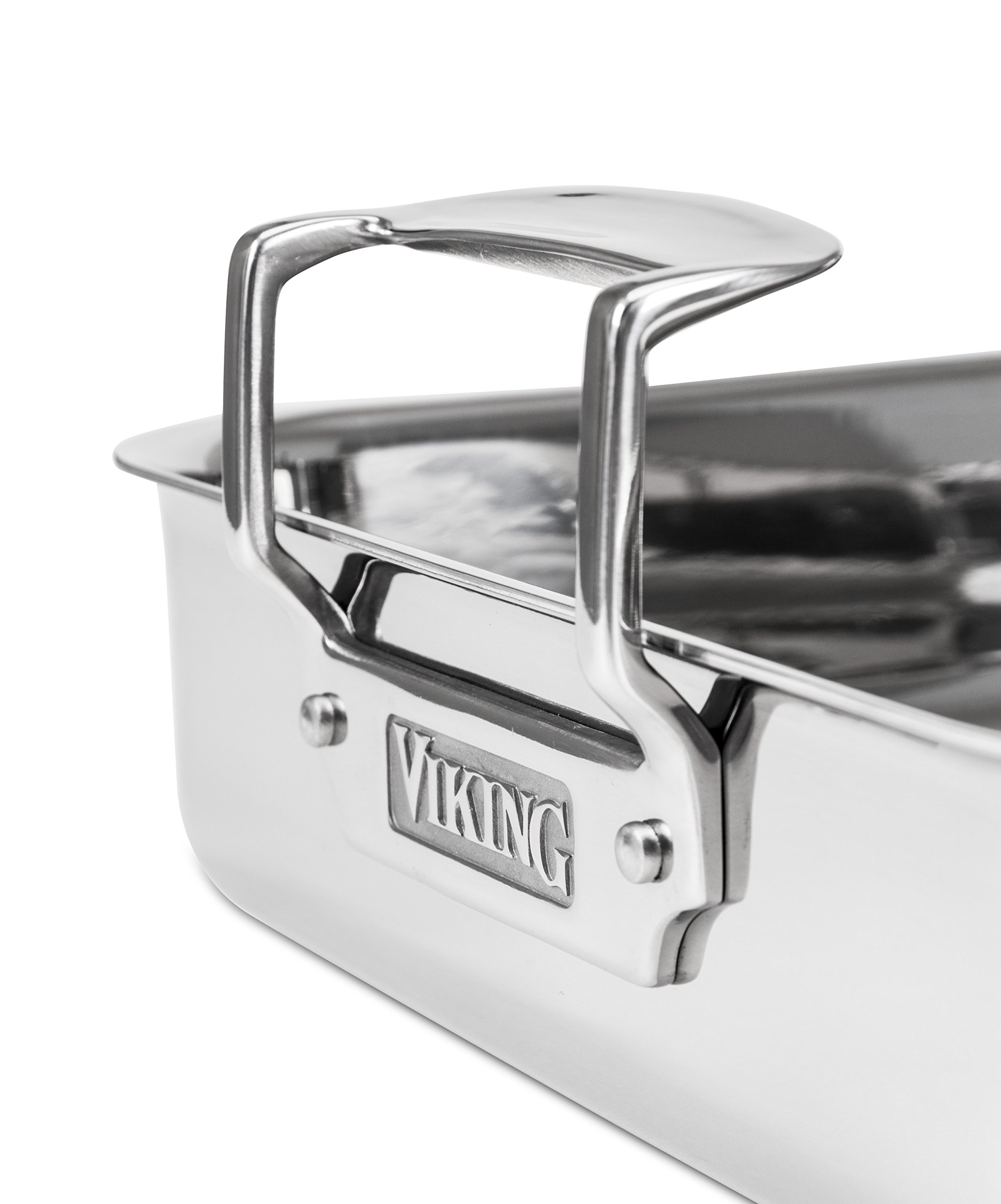 Viking 3-Ply Stainless Steel Roasting Pan with Nonstick Rack, 16 Inch by 13 Inch by Viking Culinary (Image #6)