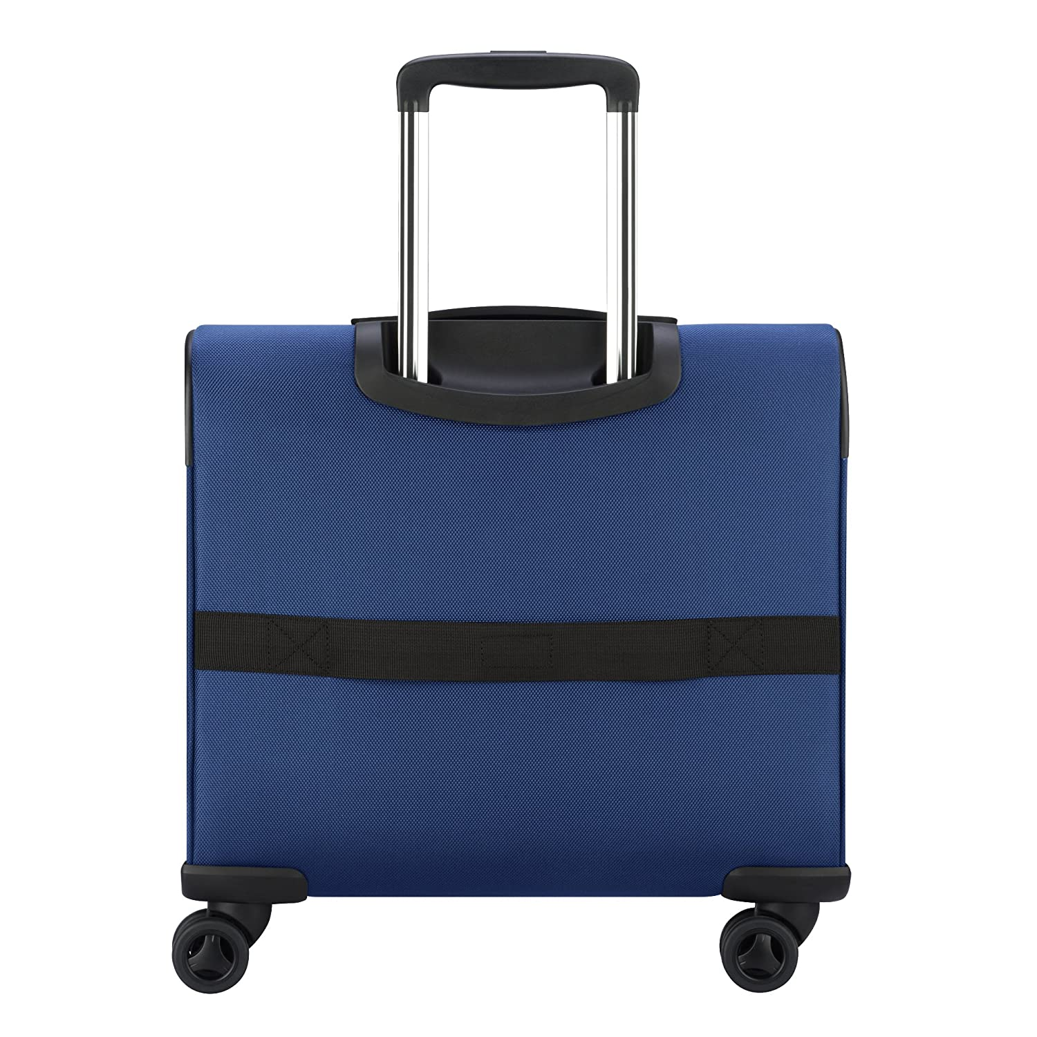 Amazon.com   Delsey Luggage 4 Wheel Spinner Mobile Laptop Briefcase, Blue  One Size   Briefcases a08e9ca41c