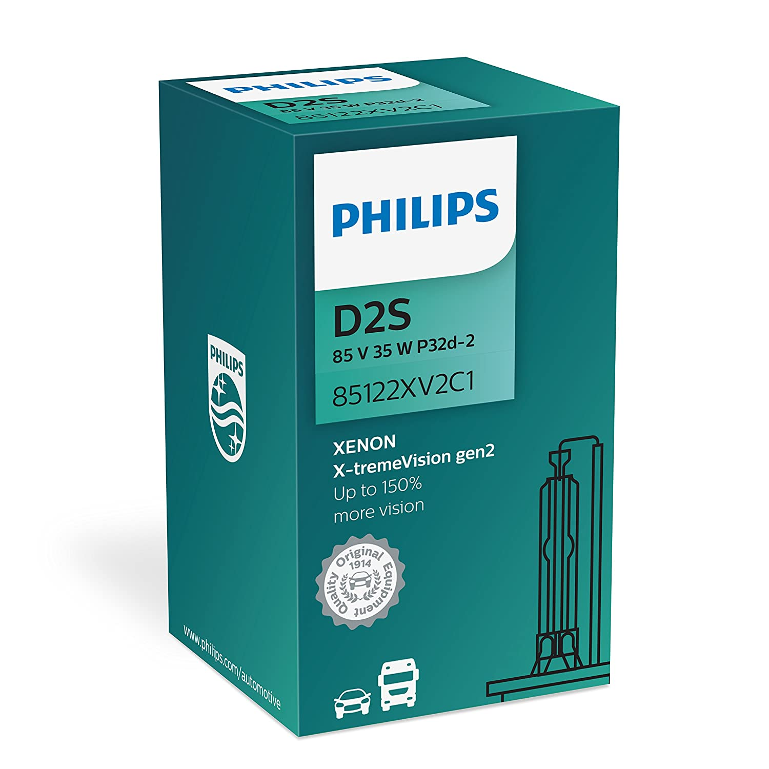 Philips MT-PH 85122XV2C1 Bombillas de Xen/ón