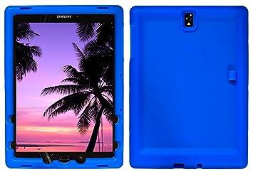 BobjGear Carcasa Resistente para Tablet Samsung Galaxy Tab S3 9.7, SM-T820, SM-T825 - Bobj Funda Protectora (Azul)