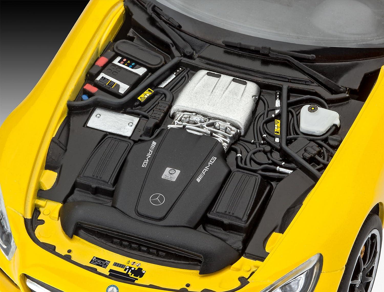 Revell Mercedes AMG GT Escala 1/24-Revell RE07028, Color Amarillo 18,9 cm de Largo 07028: Amazon.es: Juguetes y juegos