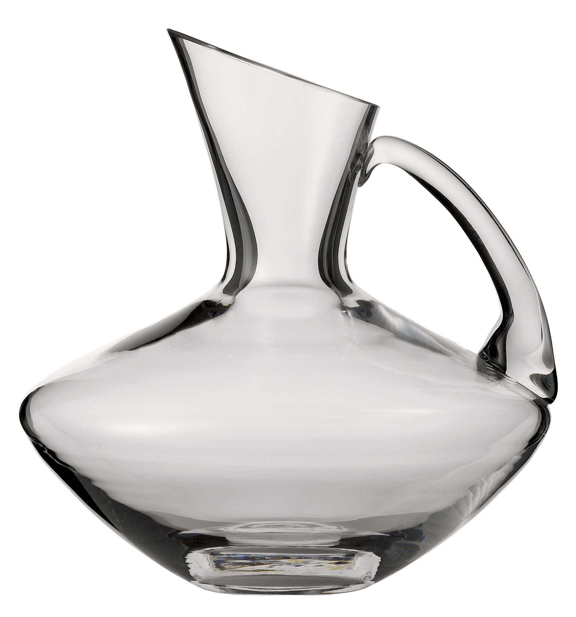 Zwiesel 1872 Handmade Glass Beaune Red Wine Decanter with Handle, 33.8-Ounce